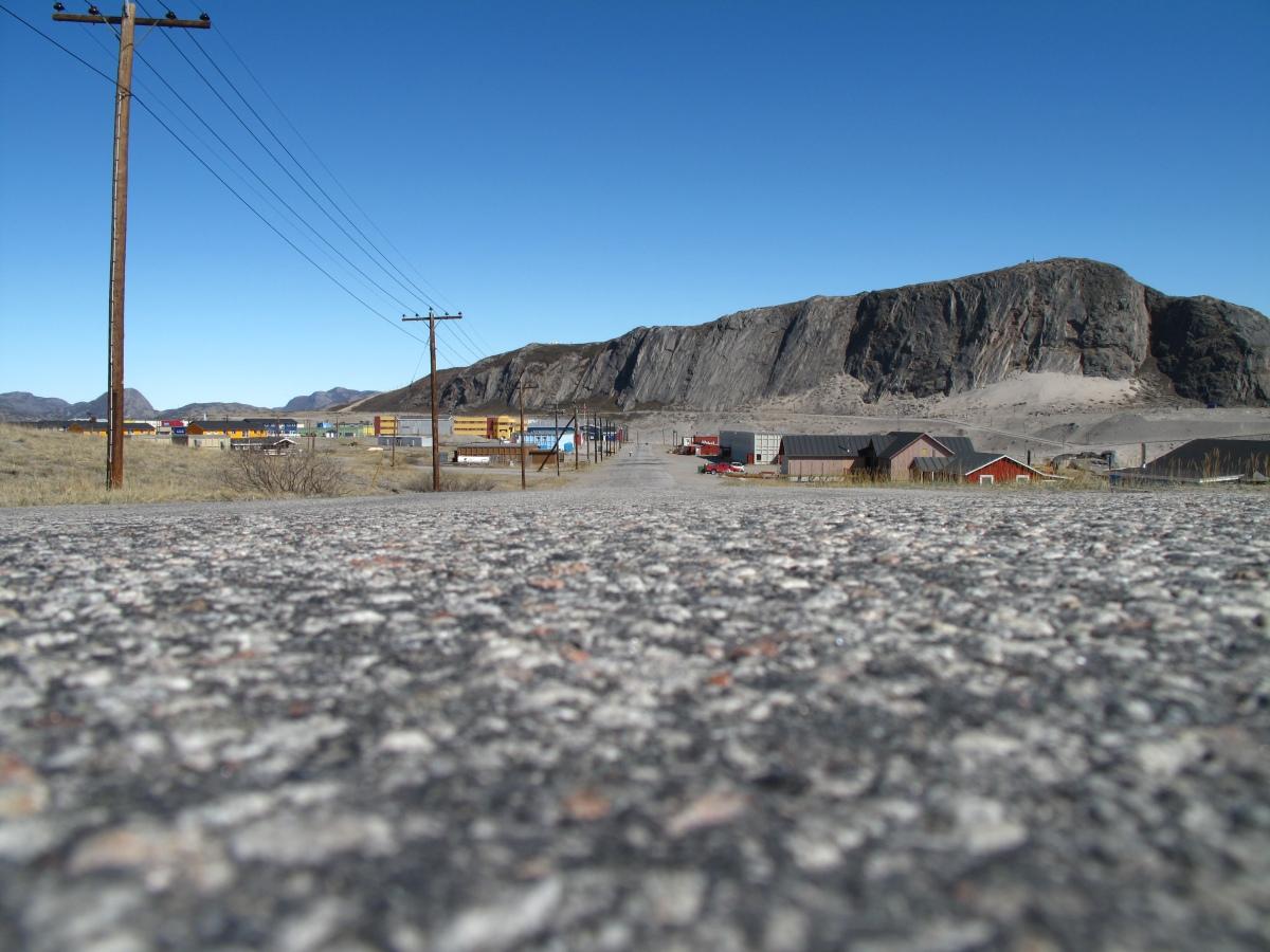 12.06.11 - Kangerlussuaq, Grönland: Durch die Wüste bis zum Inlandeis :-)