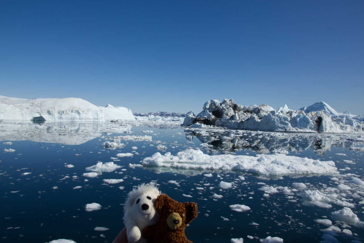 10.06.11 - Ilulissat, Grönland: Oh, what a perfect day ... :-)