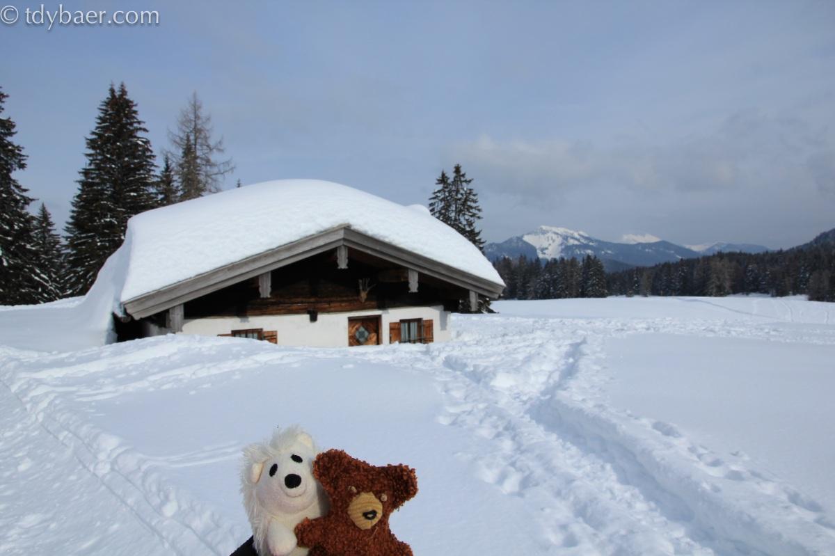 04.02.12 - Versunken im Schnee in Reit im Winkl :-)