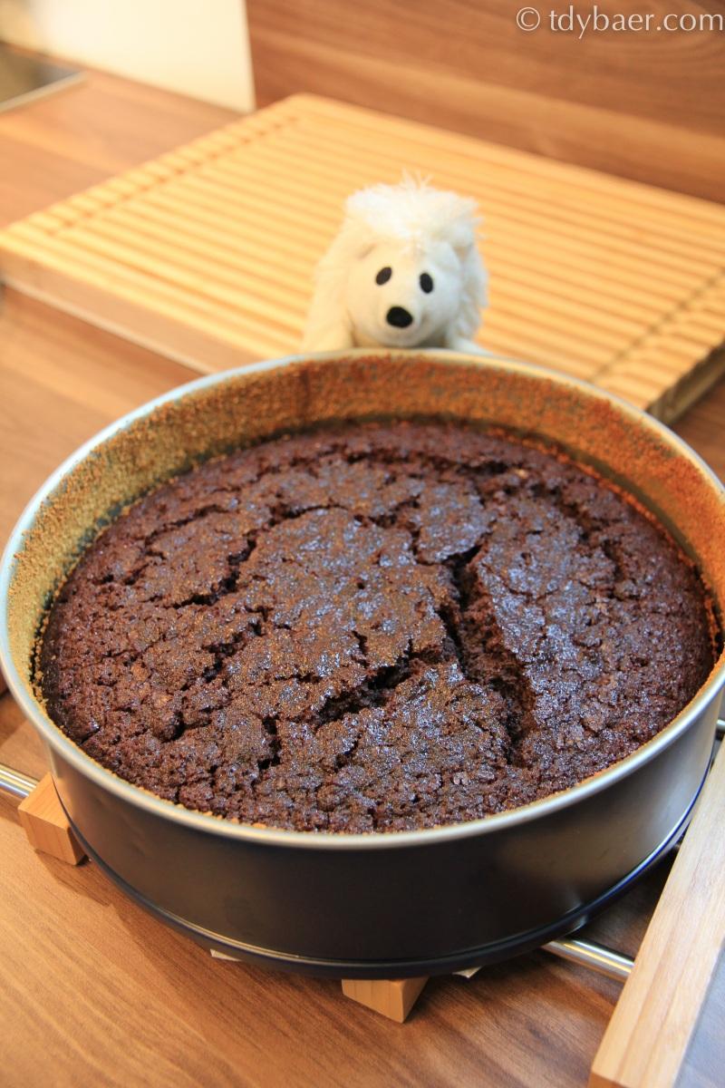Gâteau fondant Cho-Cola oder der MEGA-Schoki-Cola-Kuchen