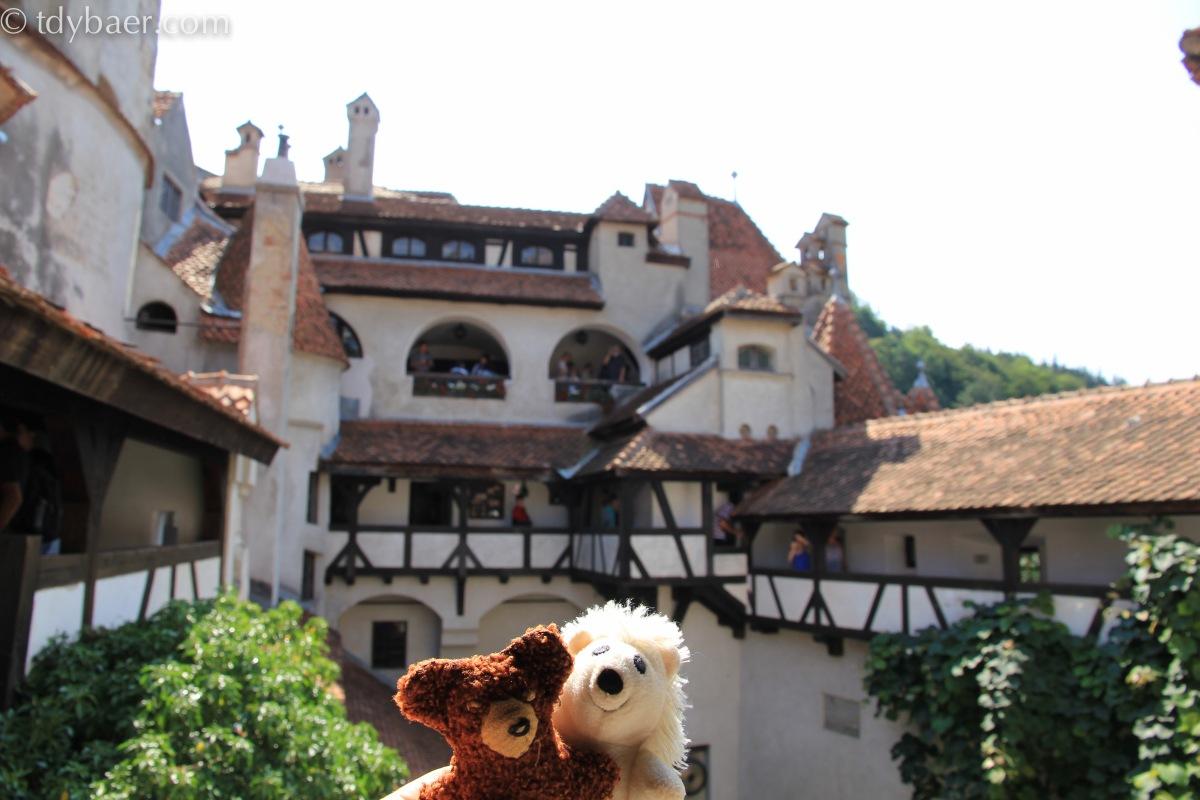 01.08.2012 – Bran: Zu Besuch auf der Burg Graf Dracula und lustige Panoramafahrt durch die Berge