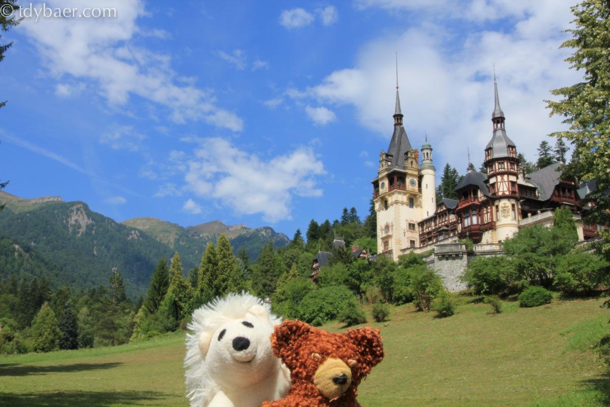 02.08.2012 - Eine Reise durch Europa im schönsten Schloss Rumäniens - Schloss Peles