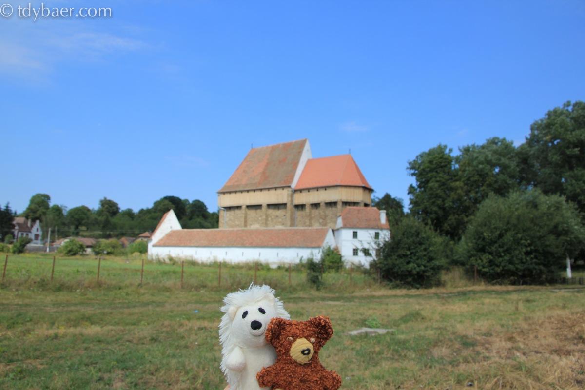 08.08.2012 - Durch das Land der Kirchenburgen