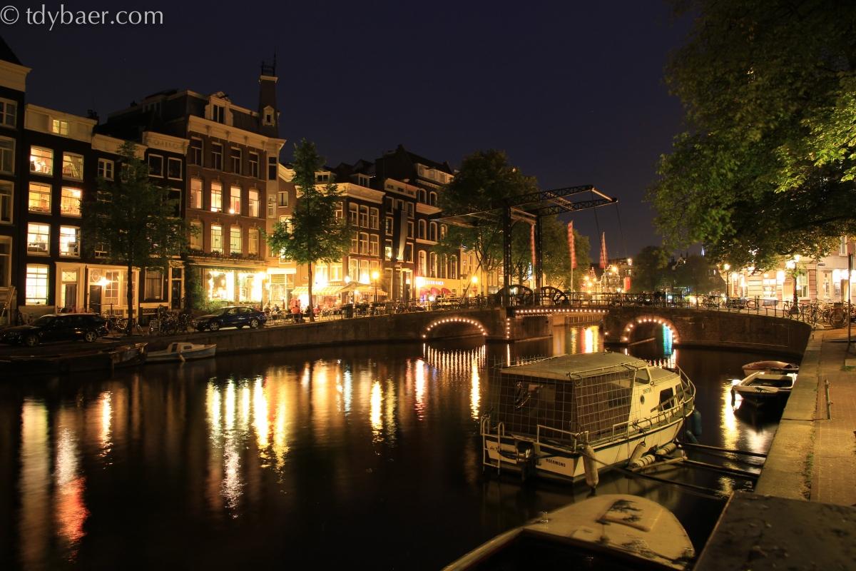 12./13.08.12 - Unterwegs in Flevoland in Richtung Amsterdam