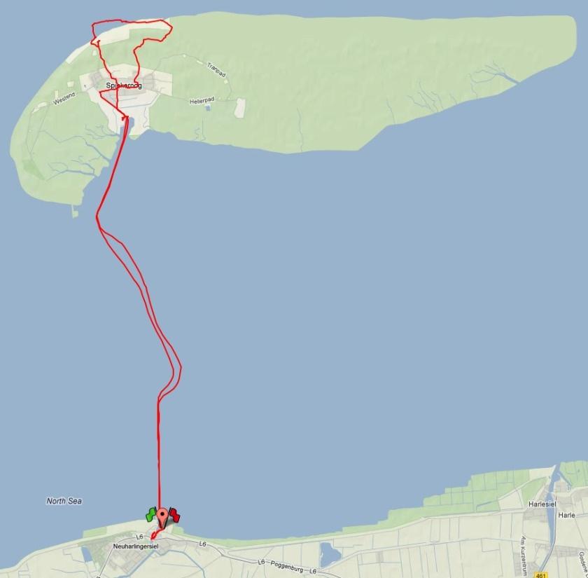 Polar-Route Spiekeroog