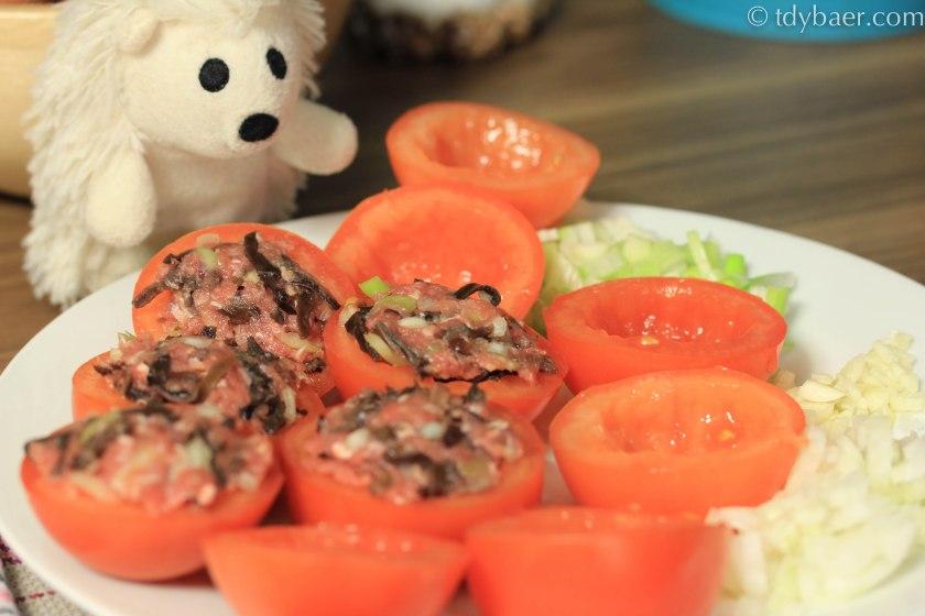 Tomatenhälften