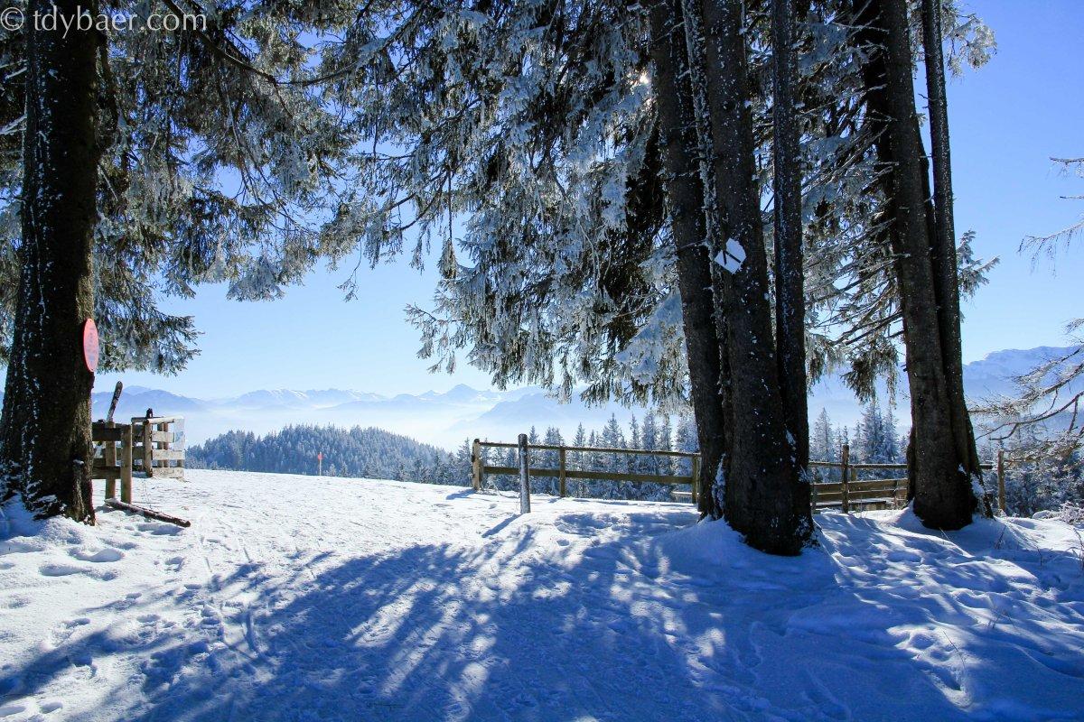 26.01.13 - Drei Gipfel auf einen Streich mit toller Aussicht