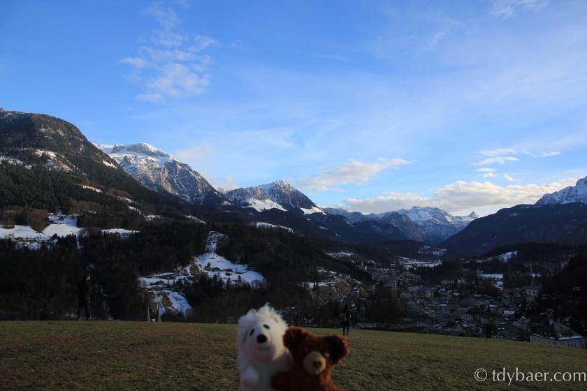 Blick über Berchtesgaden