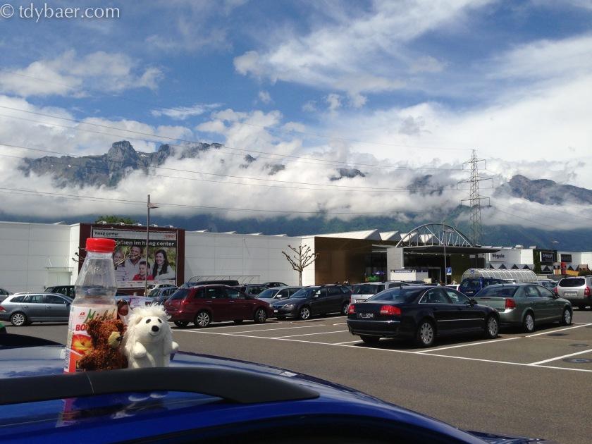Pause in der Schweiz