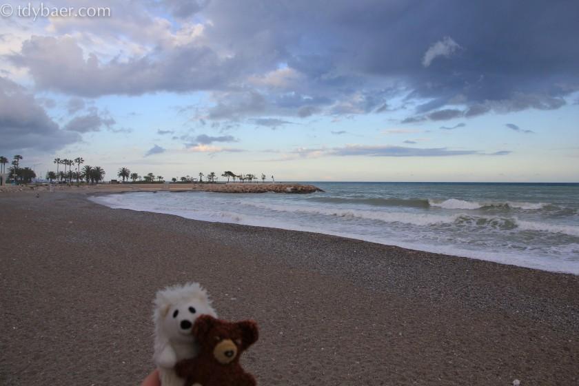 Strand von Menton