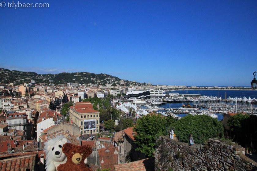 Blick auf Cannes