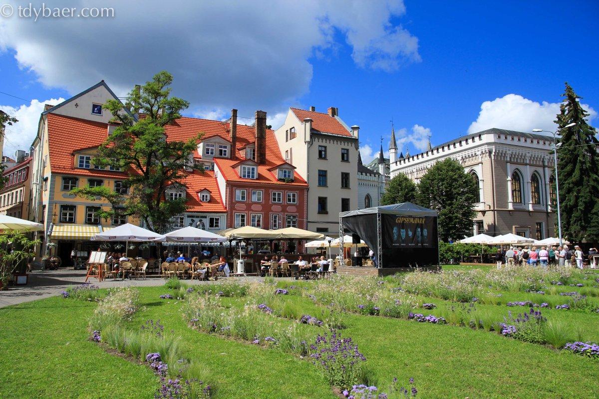 01.08.13 - Ein einfach herrlicher Tag im schönen Riga