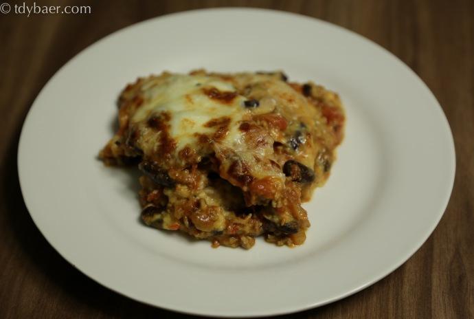 Karibische Kochbananen-Lasagne