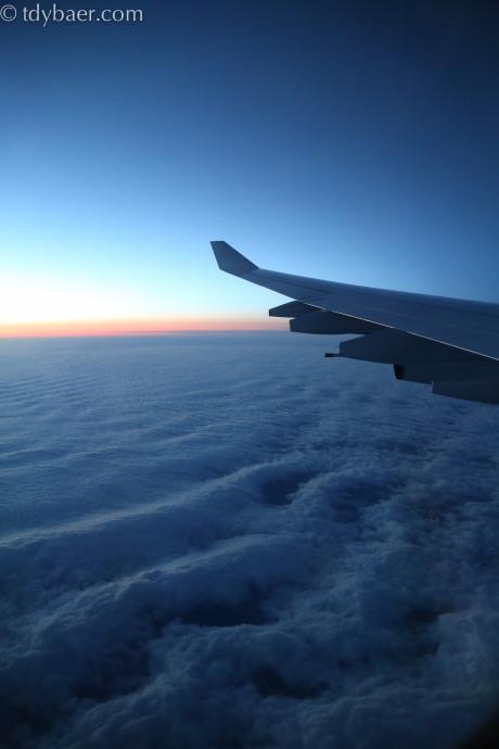 Flug nach Seoul