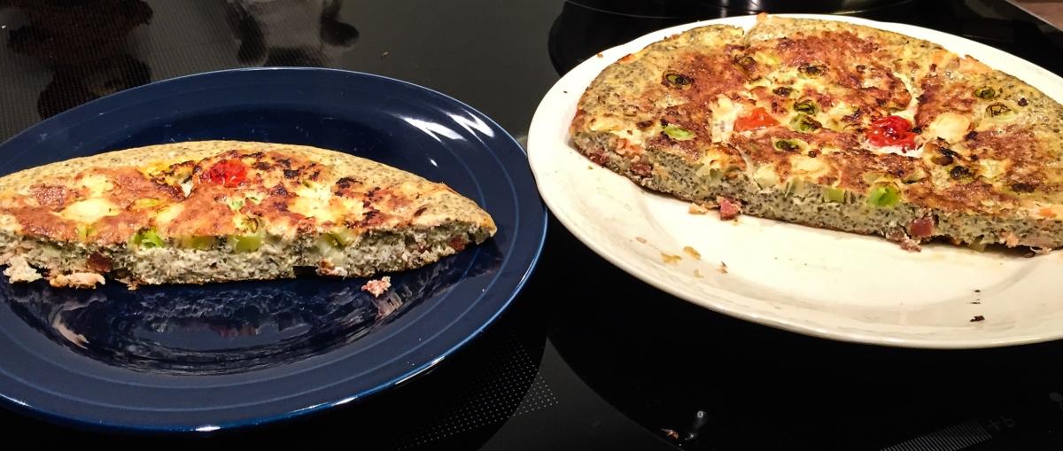 Chia-Samen-Omelette