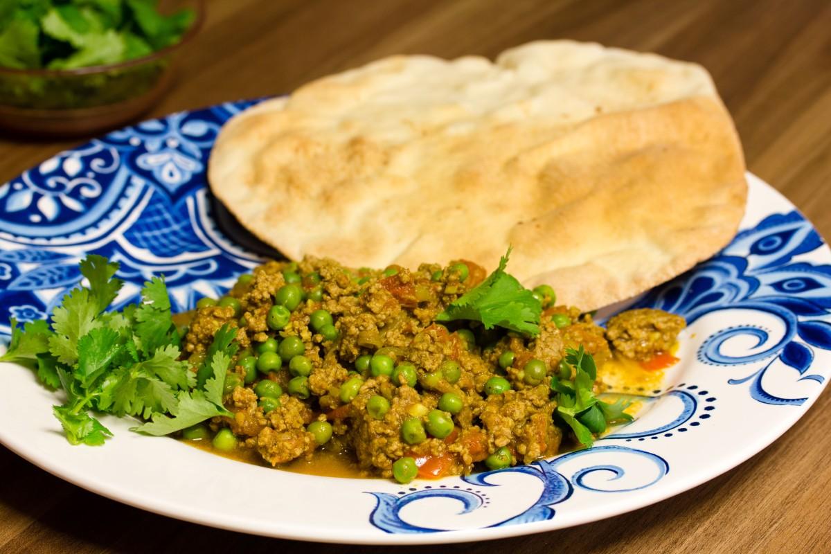 Keema Matar - Lamm-Erbsen-Curry