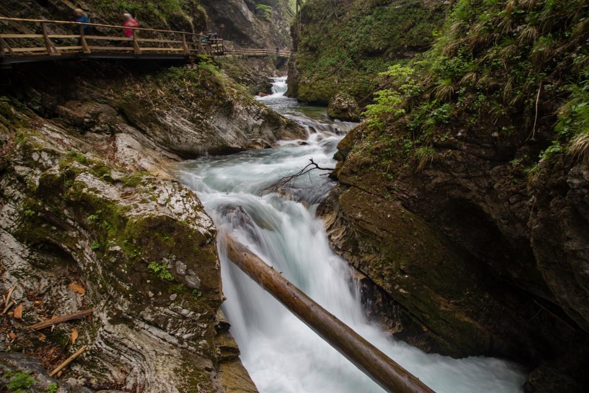 01.05.15 - Wandern durch die Vintgar-Klamm und zum Savica-Wasserfall