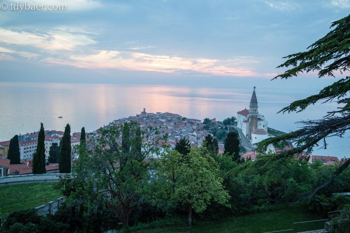 04.05.15 - In den tiefen Schluchten von Skocjan und Sonnenuntergang in Piran