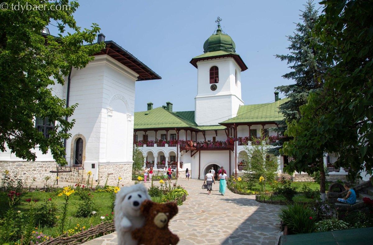 20.07.15 - Los geht die Kloster-Rundreise
