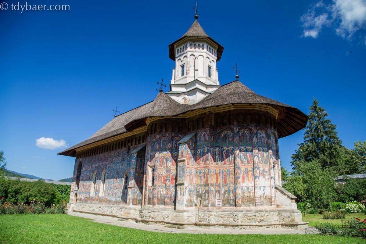 21.07.15 - Moldauklöster Part I: Moldovita, Sucevita und Putna