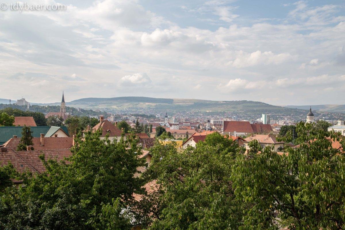 27.07.15 - Tolle Aussichten in Cluj