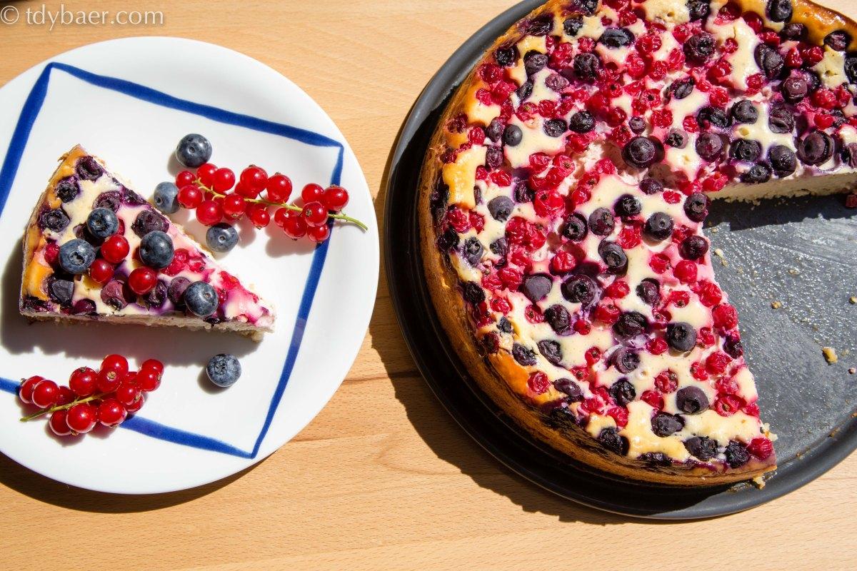 Beeren Ricotta Kuchen