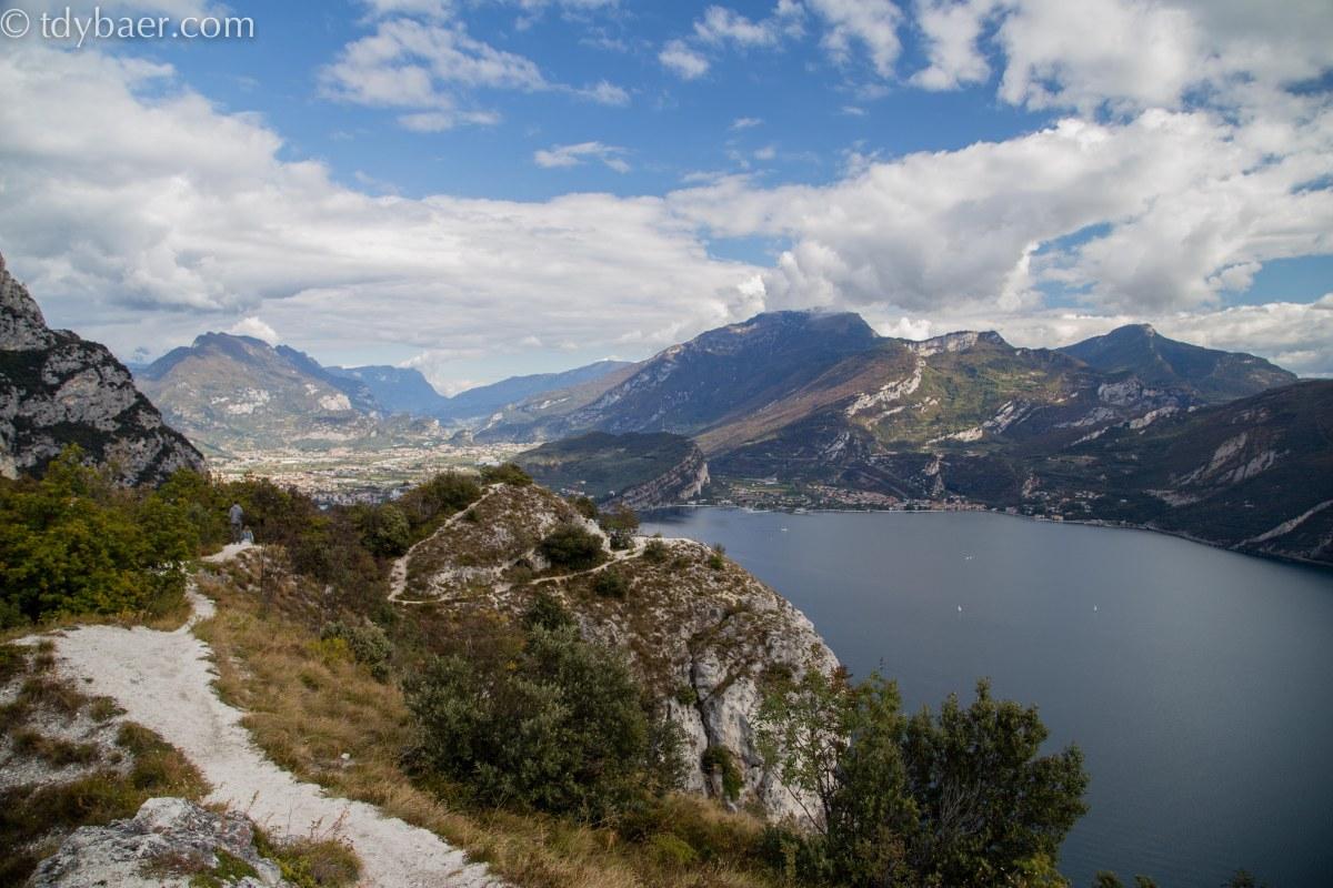 10.10.16 - Tolle Aussichten am Gardasee