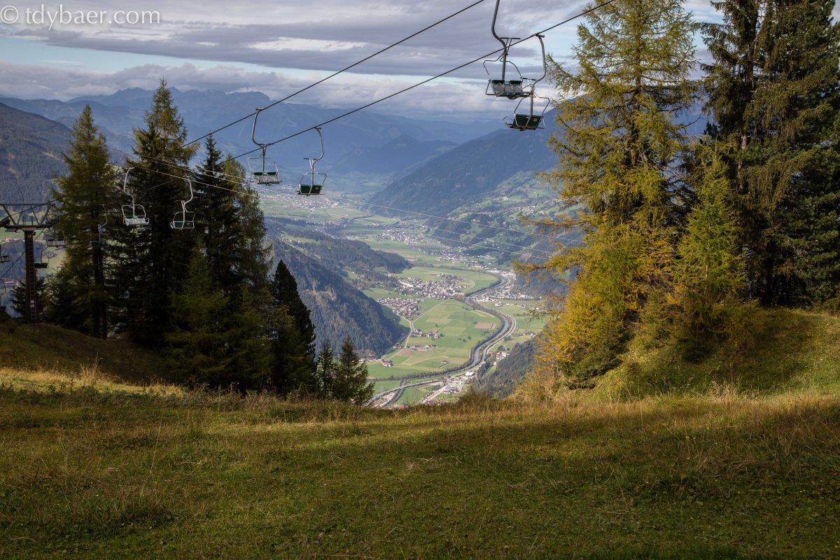 15.10.16 - Wanderung im Zillertal an der Gerlossteinwand